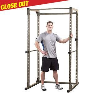 Best Fitness BFPR100 Power Rack, Champagne Close Out
