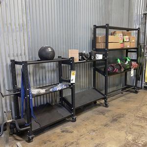 Commercial Storage Rack Floor Model, Forest Park