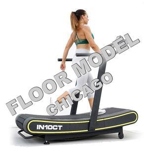 IN10CT Health Runner Curved Manual Treadmill  Floor Model Chicago