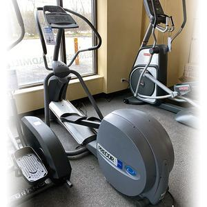 Used Precor EFX® 5.21i Elliptical Floor Model with Free Delivery & Assembly, Mundelein