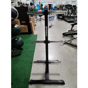 Rage Fitness Vertical Bumper Stand Floor Model, Forest Park