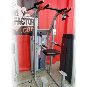 Body-Solid Series 2 Weight Assist Chin Dip 235lb Stack Floor Model, Aurora