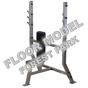 Pro ClubLine Olympic Shoulder Press Bench Floor Model Forest Park