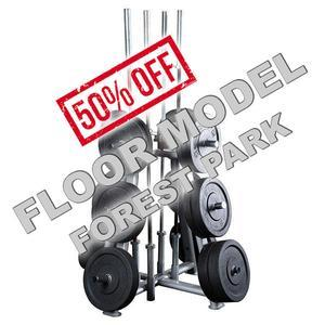 Body-Solid Pro ClubLine Plate Barbell Rack Floor Model Forest Park
