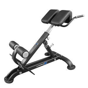 Lumbar X Back Hyperextension Bench Black