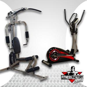 Best Fitness Sportsman Gym and Cross Trainer Combo