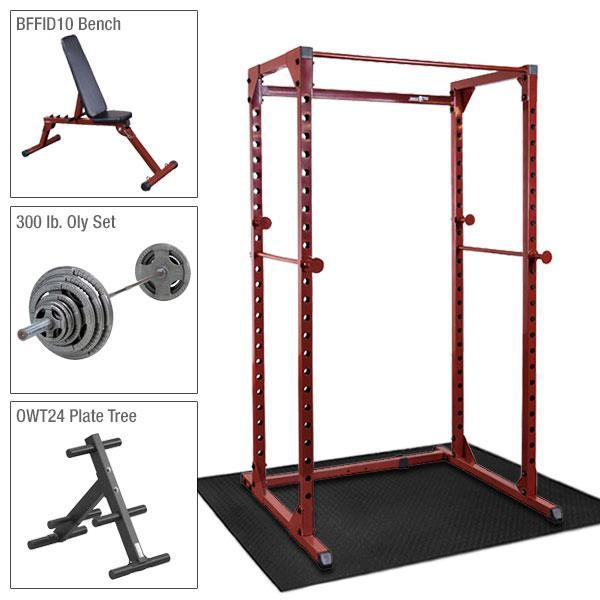 Best Fitness Power Rack Package 2 - BFPR100-PACK2