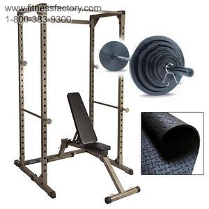 Best Fitness Power Rack Package #FFO9