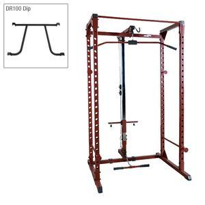 Best Fitness Power Rack with Lat and Dip (BFPR100LRDIP)