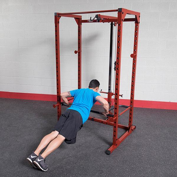 Best Fitness Power Rack with Lat and Dip