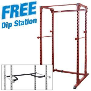 Best Fitness Power Rack with FREE Dip Attachment