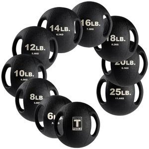 Body-Solid Tools Dual Grip Medicine Balls available in 6lb. to 25lb.  (BSTDMB)