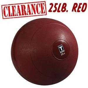 Slam Ball 25 lbs. Red