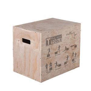 Body-Solid 3-Way Wood Plyo Box 20in., 24in. and 30in. heights