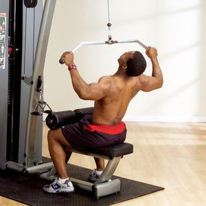 DGYM Lat Mid Row Station 210lb. Stack (DLAT-S)
