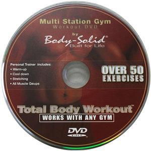 Total Body Home Gym Workout DVD