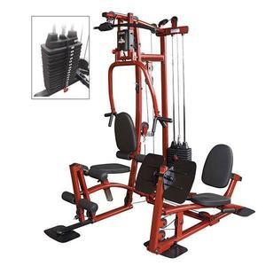 EXM1 Home Gym with Leg Press and Stack Upgrade