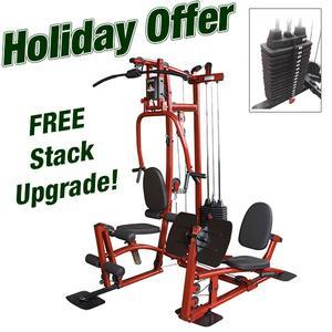 EXM1 Home Gym with Leg Press and Stack Upgrade (EXM1LPS50)