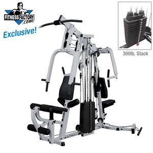 Body-Solid EXM2500S Home Gym with 300lb. Stack (EXM2500S/300)