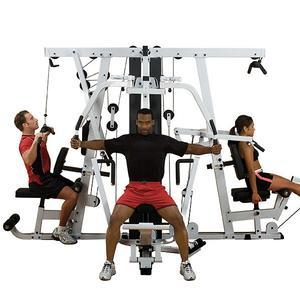 Body-Solid EXM4000 Triple Stack Gym (EXM4000S)