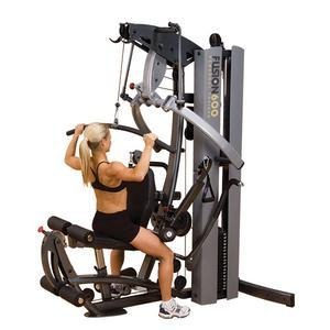 Body-Solid FUSION 600 Personal Trainer Gym with 210lb. Stack (F600/2)