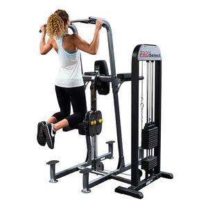 Body-Solid Weight Assist Vertical Knee Raise Machine