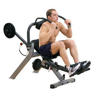 Body-Solid GAB300 Semi-Recumbent Ab Bench (GAB300)