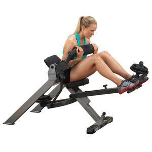 Body-Solid GAB350 Semi-Recumbent Dual Ab Bench