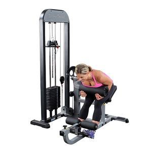 Body-Solid Ab and Back Machine with Weight Stack