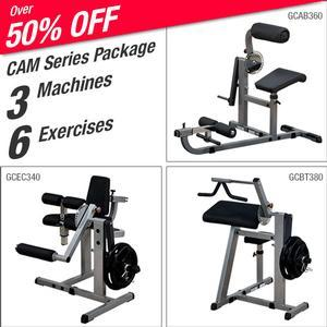 Body-Solid CAM Package, 3 Machines, 6 Exercises