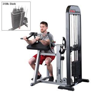 Body-Solid Pro Select Bicep Tricep Machine 300lb. Stack (GCBT-STK/3)