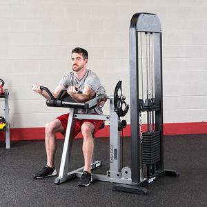 Body-Solid Bicep Tricep Machine with Weight Stack