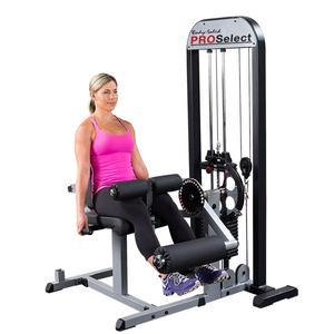 Body-Solid Pro Select Leg Extension Curl Machine (GCEC-STK)