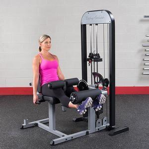 Body-Solid GCEC-STK Leg Extension Curl with 210lb. Weight Stack (GCEC-STK)