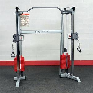 Body-Solid Functional Trainer Red Stack Edition (GDCC200RSTK)