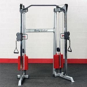 Body-Solid Compact Functional Trainer Red Stack