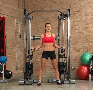 Body-Solid GDCC200 Functional Trainer with 300lb. Stacks (GDCC300)