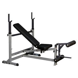 Body-Solid PowerCenter Olympic Bench (GDIB46L)
