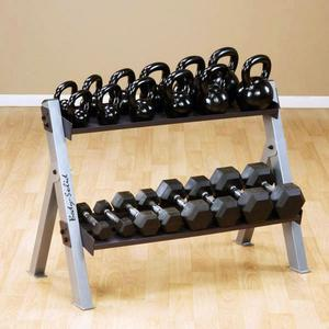 Body-Solid Dumbbell & Kettlebell Rack (GDKR100)