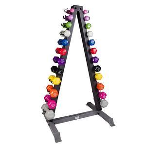 Body-Solid GDR24 Vertical Dumbbell Rack with 12 Vinyl Pairs
