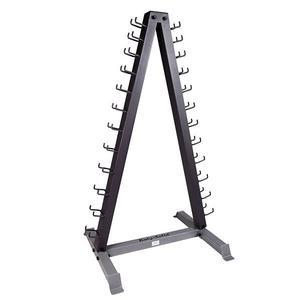 Body-Solid Vinyl Neoprene Dumbbell Rack