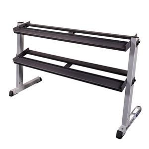 Body-Solid GDR60 2 Tier Heavy Dumbbell Rack