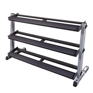 Body-Solid Heavy Dumbbell Rack with 3rd Tier (GDR603T)