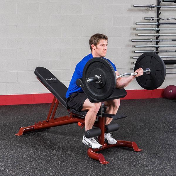Body Solid Gfid100 Heavy Duty Adjustable Bench