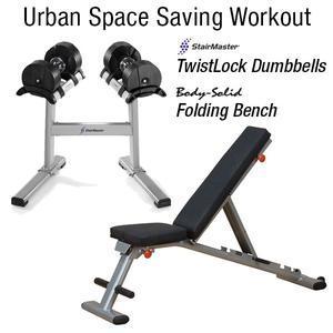 Urban Space Saving Workout Package