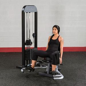 Body-Solid Inner-Outer Thigh Machine with Weight Stack