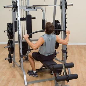 Body-Solid Smith Machine Lat Attachment
