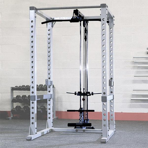 Body Solid Power Rack Lat Attachment