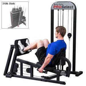 Body-Solid Pro Select Leg Press Machine 310lb. Stack (GLP-STK/3)