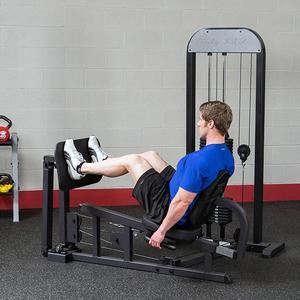 Body-Solid Leg Press with Weight Stack (GLP-STK)